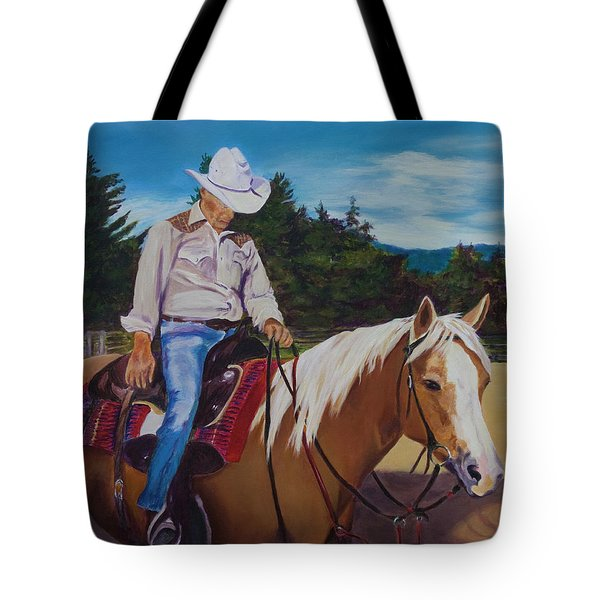 Long Days End Tote Bag