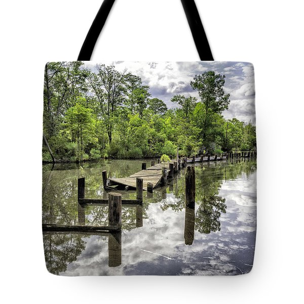 Long First Step Tote Bag by Alan Raasch