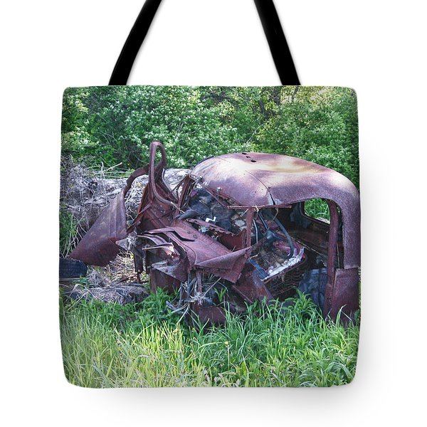 Tote Bag featuring the photograph Long Forgotten 2808 by Guy Whiteley