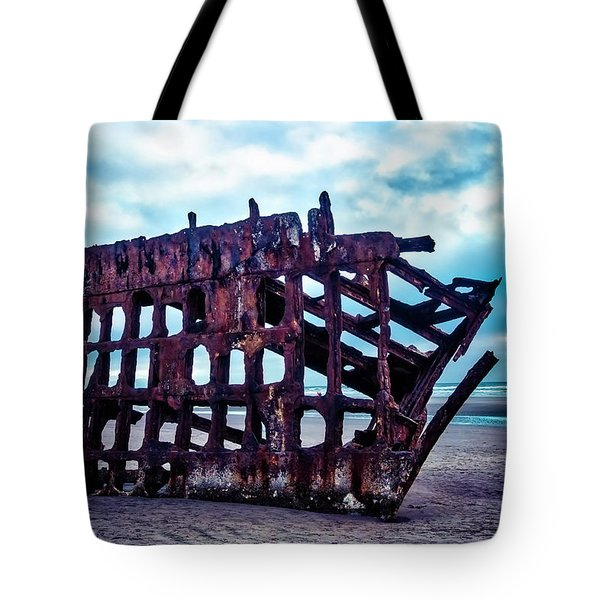 Long Forgotten Shipwreck Tote Bag