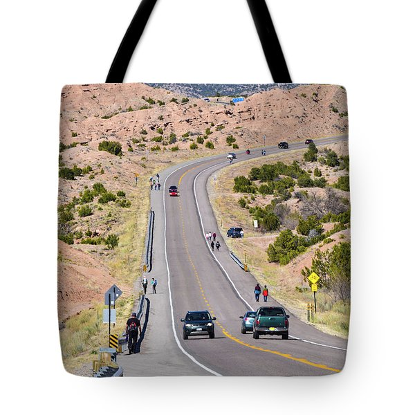 Long Hike Tote Bag