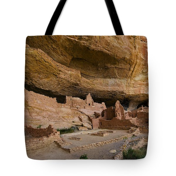 Long House Cliff Dwelling Tote Bag