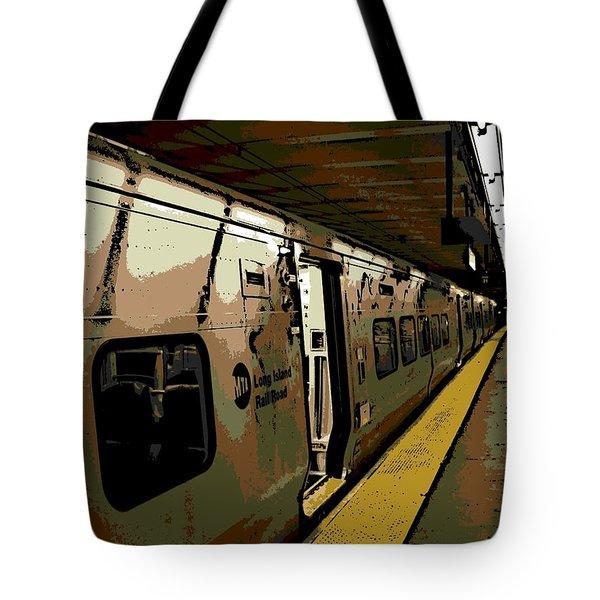 Long Island Railroad Tote Bag