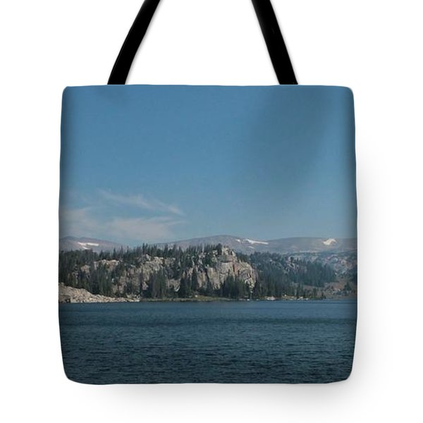 Long Lake Shoshone National Forest Tote Bag