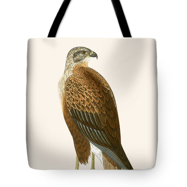 Long Legged Buzzard Tote Bag by English School