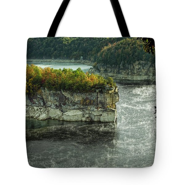 Long Point Clff Tote Bag