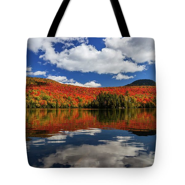 Long Pond And Clouds Tote Bag
