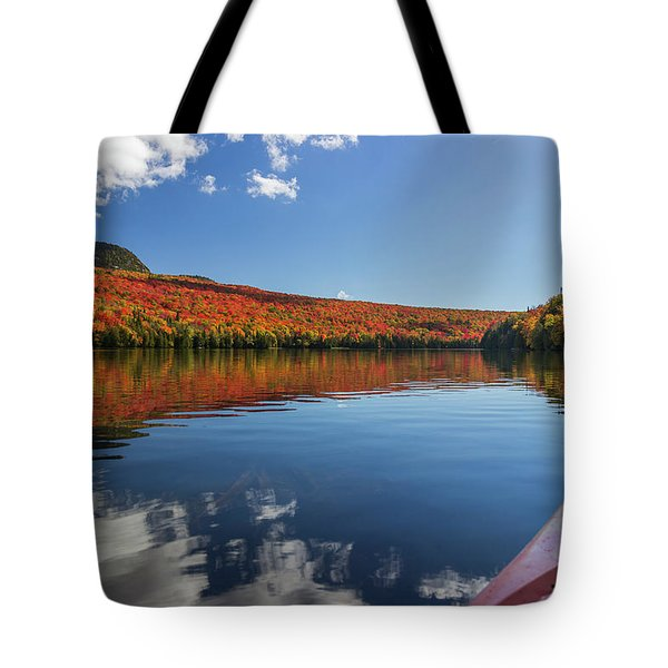 Long Pond From A Kayak Tote Bag