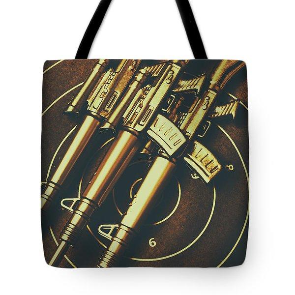 Long Range Tactical Rifles Tote Bag