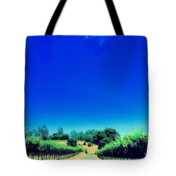 Long Road Tote Bag by Gillis Cone