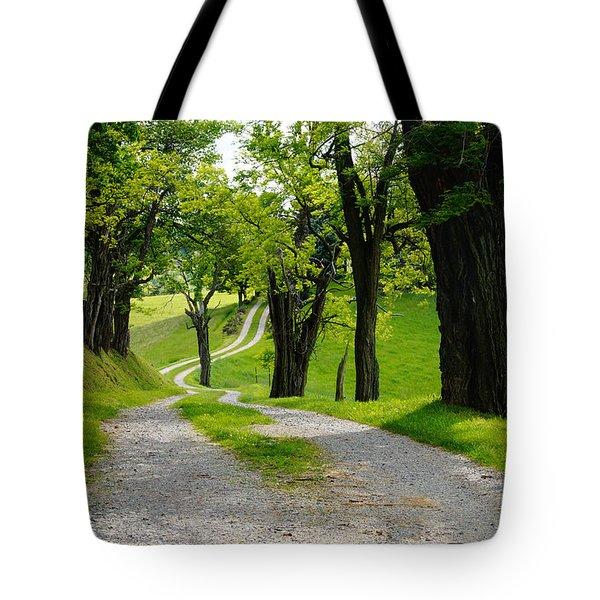 Long Road Tote Bag
