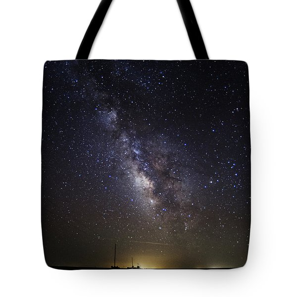 Long Road To Eden Tote Bag by Karen Slagle