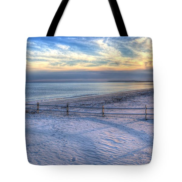 Tote Bag featuring the photograph Long Shadows by Michelle Wiarda