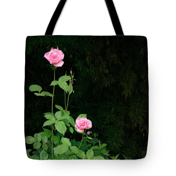 Tote Bag featuring the photograph Long Stemmed Rose by Jean Noren