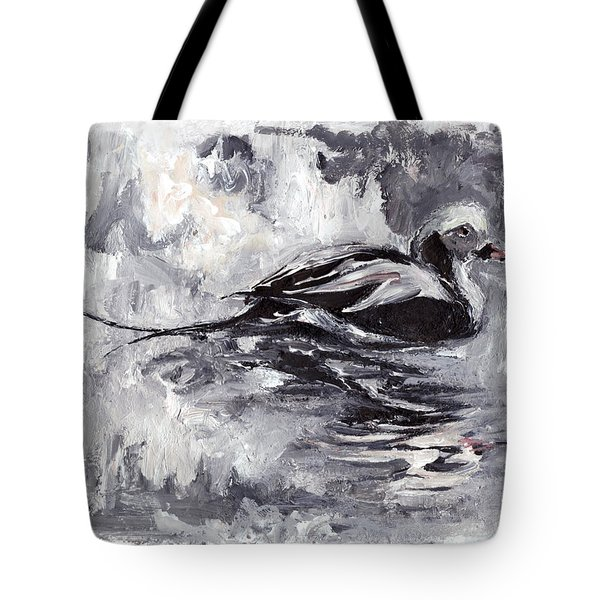 Long-tailed Duck Tote Bag
