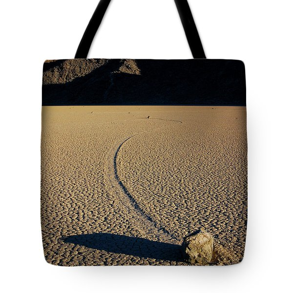 Long Tracks Tote Bag