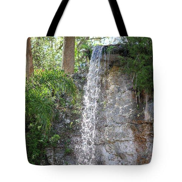 Long Waterfall Drop Tote Bag