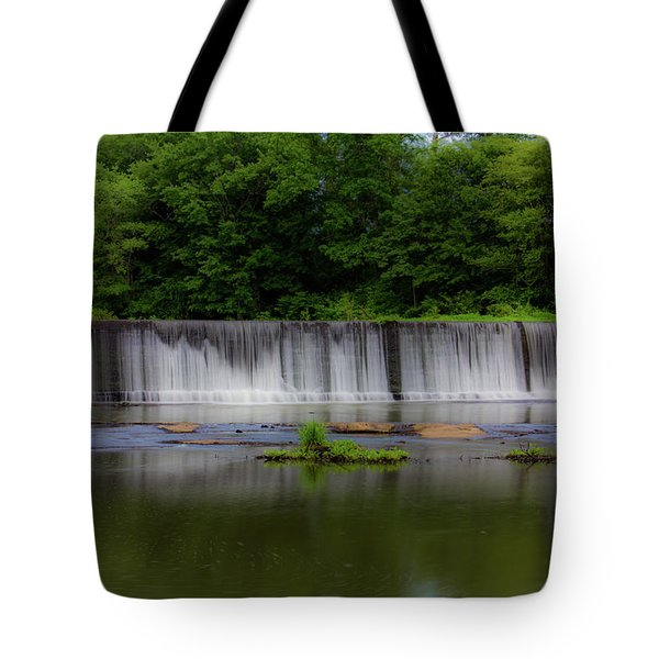 Long Waterfall Tote Bag