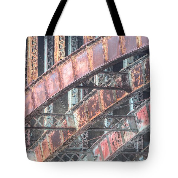 Longfellow Bridge Arches I Tote Bag by Clarence Holmes