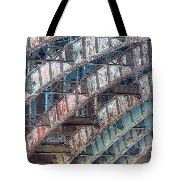 Longfellow Bridge Arches II Tote Bag by Clarence Holmes