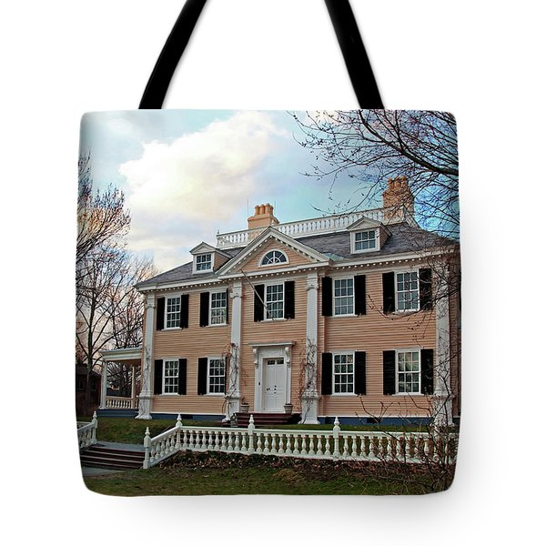 Longfellow House At Sunset Tote Bag