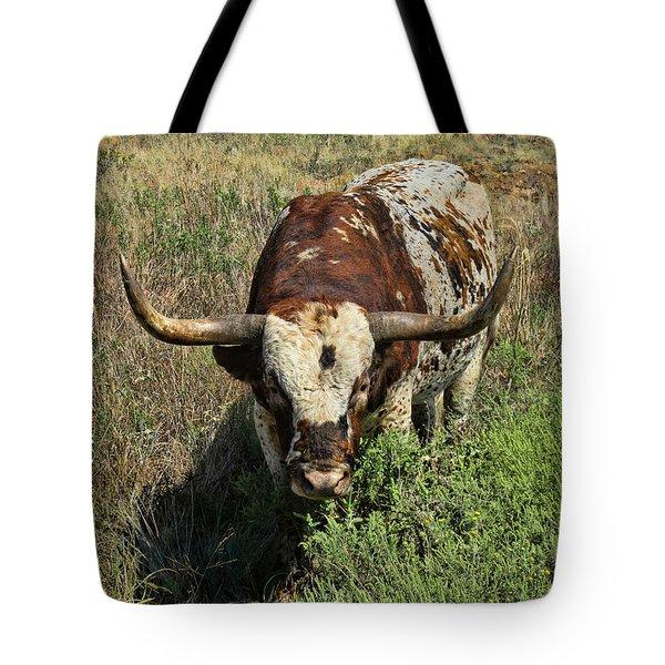 Longhorn II Tote Bag