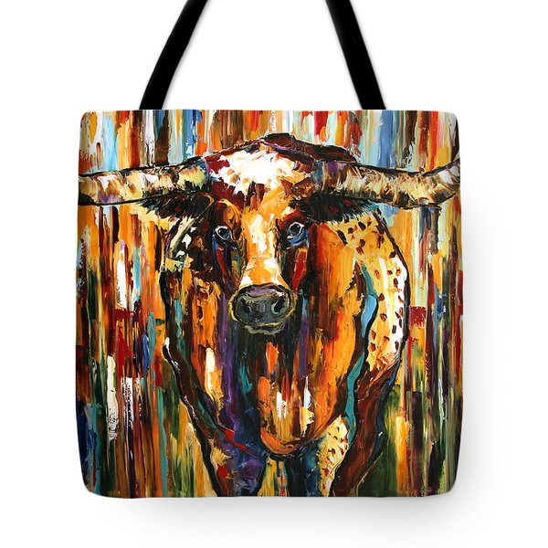 Longhorn Way  Tote Bag