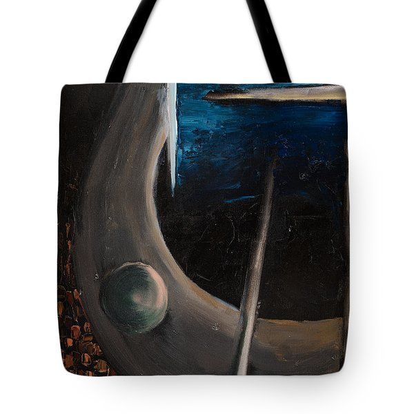 Tote Bag featuring the painting Longing by Break The Silhouette