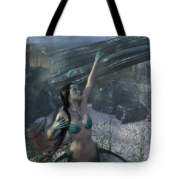Longing For Land Tote Bag