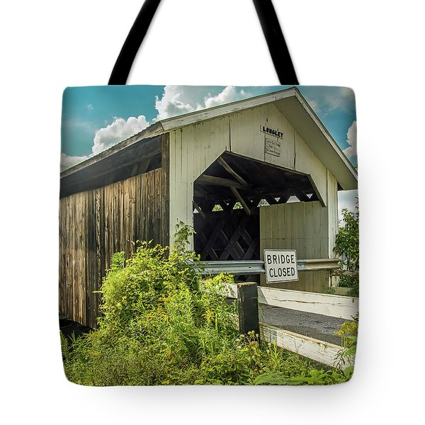 Longley Bridge Tote Bag