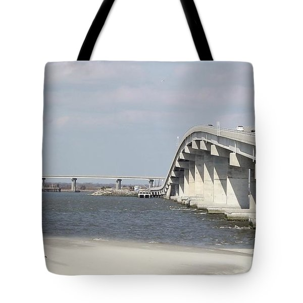 Longport Bridge Tote Bag