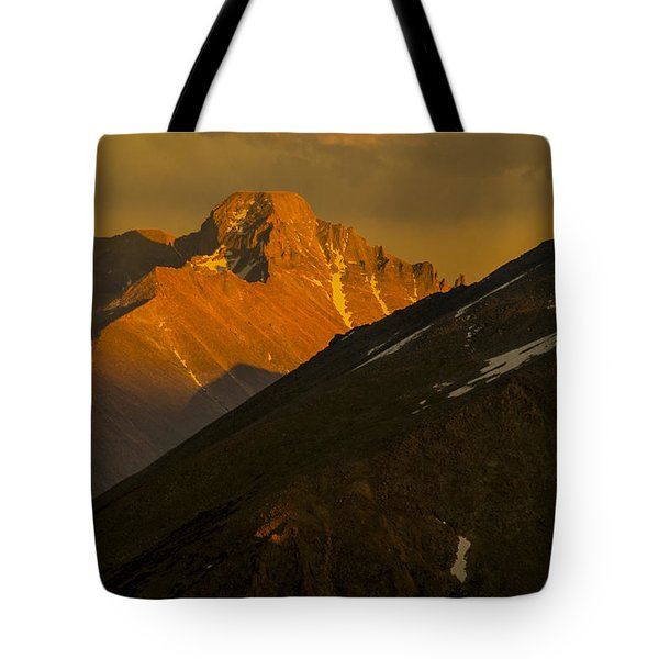 Long's Peak Tote Bag by Gary Lengyel