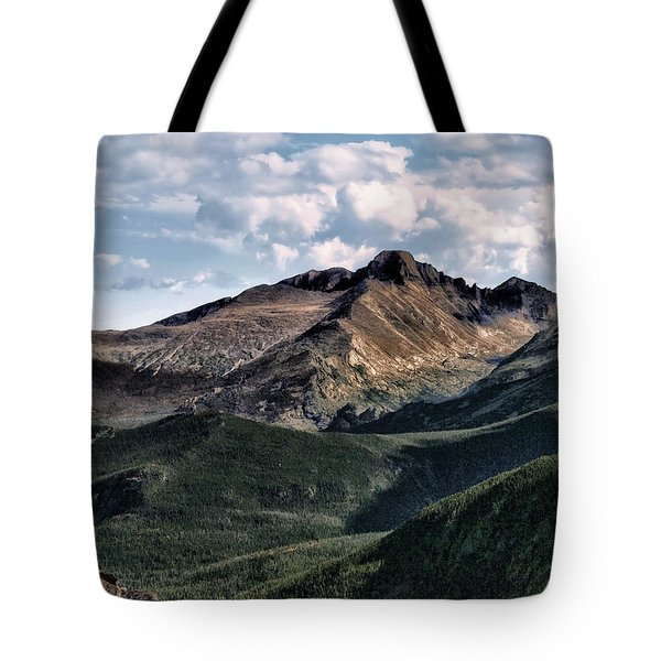 Longs Peak Tote Bag by Jim Hill