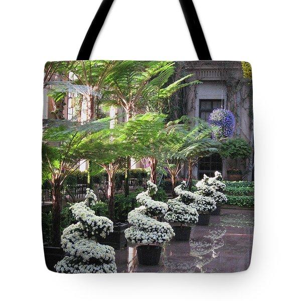 Longwood Splendor Tote Bag