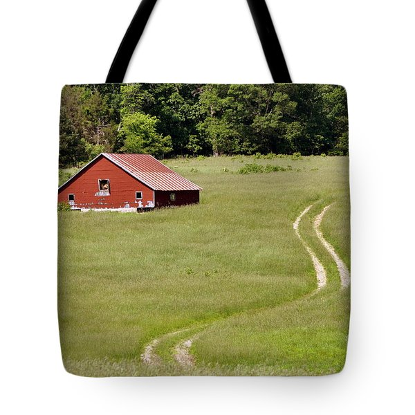 Lonly Barn Tote Bag by Marty Koch