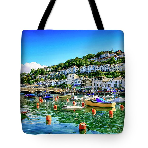 Looe In Cornwall Uk Tote Bag