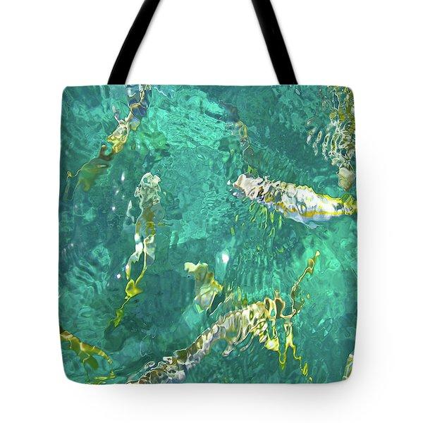 Looe Key Reef Tote Bag by Charles Harden