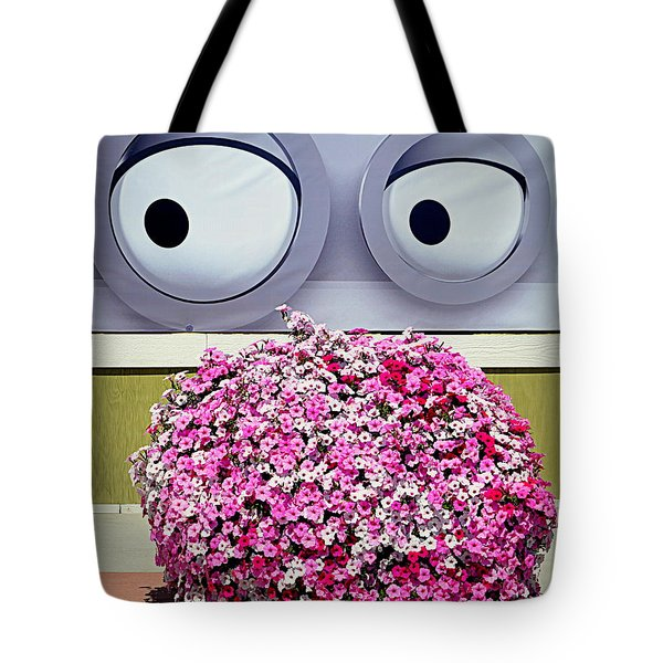 Look At Those Flowers Tote Bag