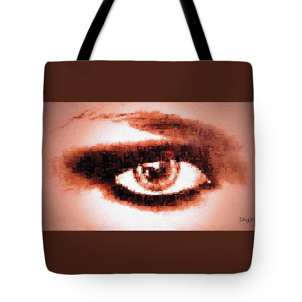 Look Into My Eye Tote Bag by Paula Ayers