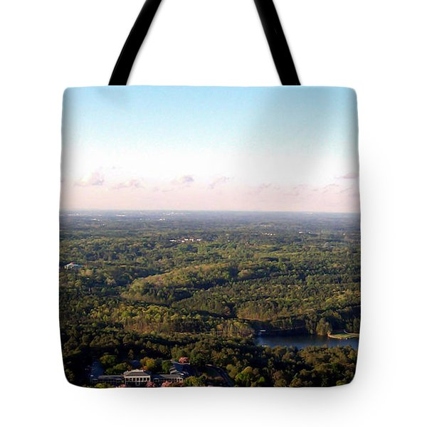 Tote Bag featuring the photograph Look Out Mountain by Debra Forand