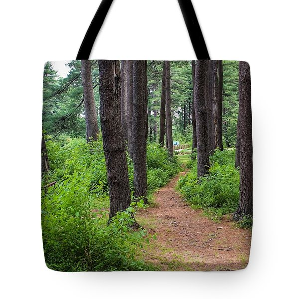 Look Park Nature Path Tote Bag