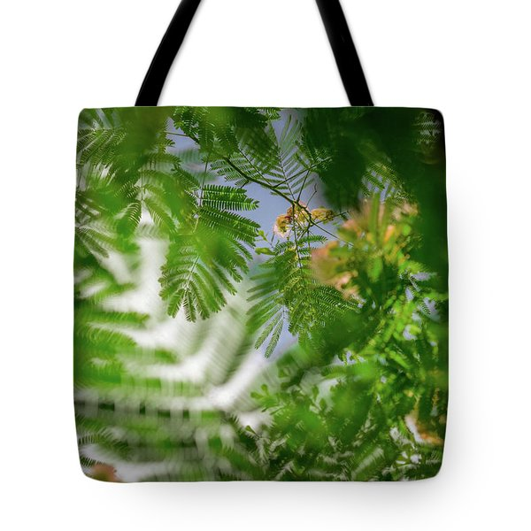 Look To The Sky Tote Bag by Stefanie Silva
