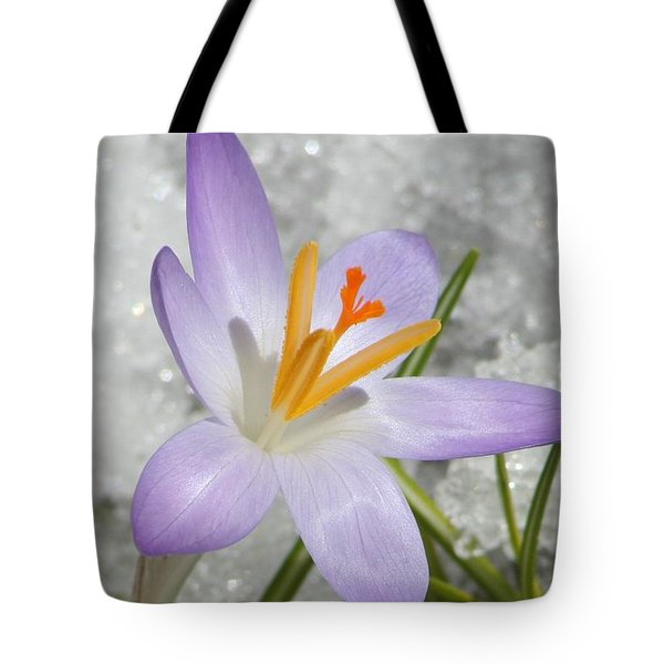 Tote Bag featuring the digital art Look To The Sun by Barbara S Nickerson