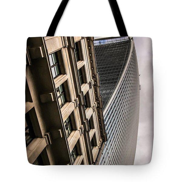 Look Up Tote Bag by David Warrington
