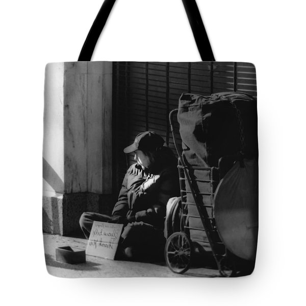 Looked The Other Way Tote Bag