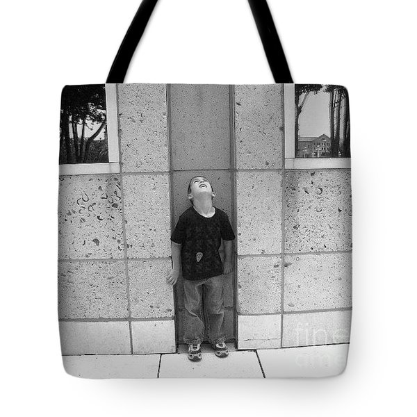 Looken Up Tote Bag by Michelle S White