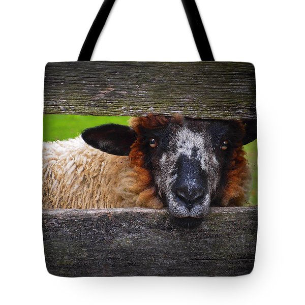 Lookin At Ewe Tote Bag