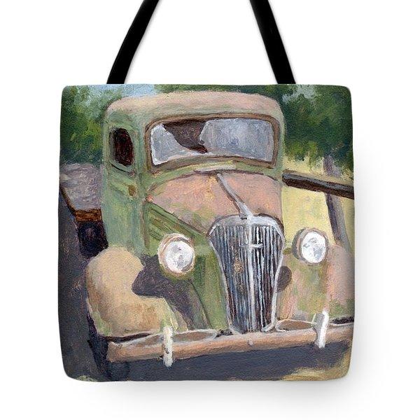 Lookin' Back Tote Bag
