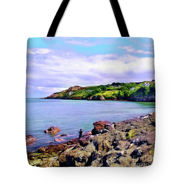 Looking Across Tote Bag