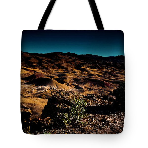 Looking Across The Hills Tote Bag
